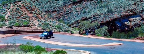 D4 in Hamersley Gorge car park
