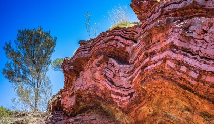 rock formation in Karijini