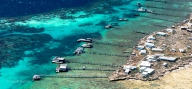 Abrolhos fisheries aerial of Pideon island