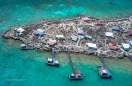 Abrolhos fisheries aerial of unknown island