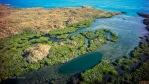 Aerial of Broome Estuary