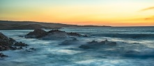 Big big surf at Cape Naturaliste at sunset