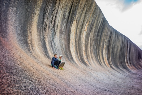 boys on wave rock