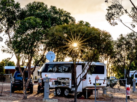 Sunstar over Hyden_