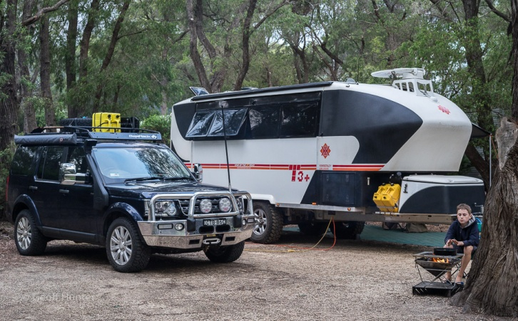 Camp site in Bremer bay