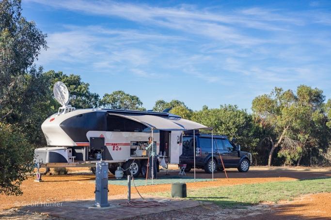 hopetoun WA campsite