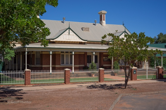 once the Superintendents home in Kalgoorlie Tram
