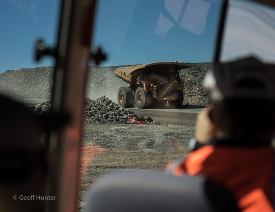 super pit from inside bus