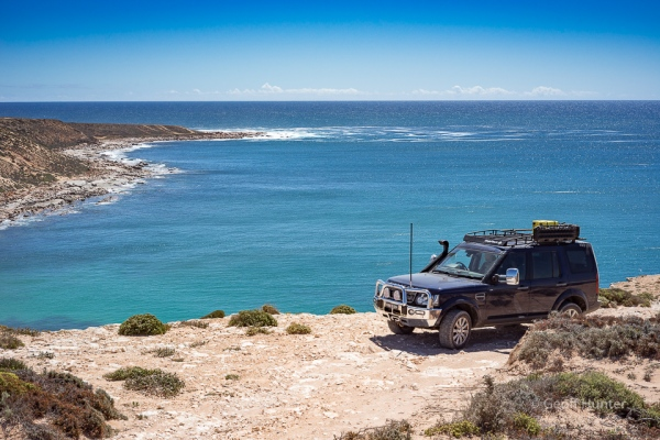 Darcy on a Streaky Bay headland 2
