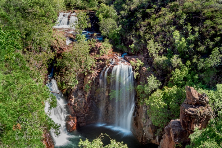 Florence Falls from above