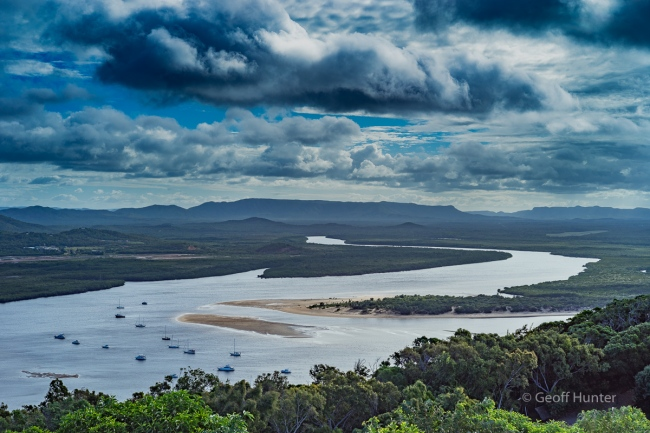 Cooktown looking back over the Endevour River