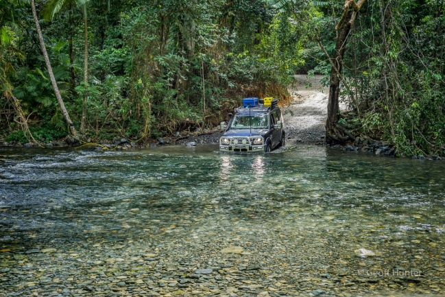 Emmegen Creek crossing in Cape Trib